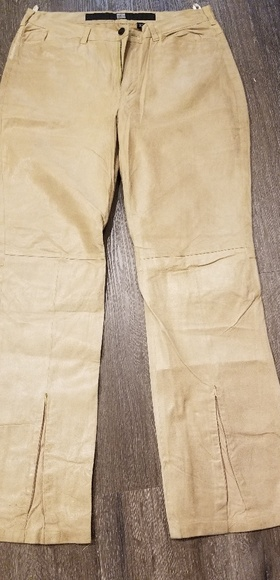 Marithe Francois Girbaud Pants - Designer Leather pants